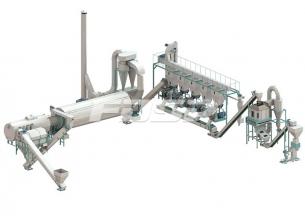 4-6 t/h 팜 폐기물 바이오매스 펠릿