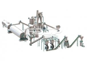 4-6 t/h 농작물 폐기물 펠릿 생산